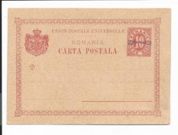 Rumänische Post In Der Türkei P 1 II ** - 20 Paras Auf 10 Bani Ziffer Karte - Occupations