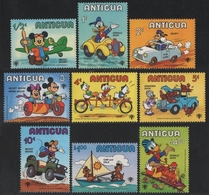 Antigua 1979 - Mi-Nr. 563-571 ** - MNH - Walt Disney - Antigua Und Barbuda (1981-...)