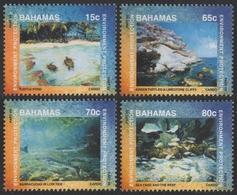 Bahamas 1999 - Mi-Nr. 1017-1020 ** - MNH - Meeresleben / Marine Life - Bahamas (1973-...)