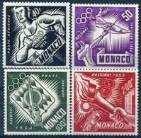 "MONACO - PA N° 51-54 * ""jo"" - Poste Aérienne"