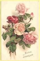 Tematica - Fiori - Rose - Mazzo Di Rose - Heureux Anniversaire - 1930 - Wrote But Not Sent - Roses