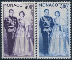MONACO - PA N° 71-72 * - Poste Aérienne
