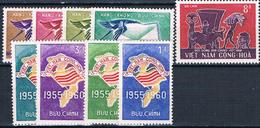 VIETNAM N°146-313 ET PA N°11 à 14 - Viêt-Nam