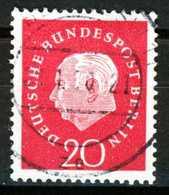 BERLIN DS HEUSS 3 Nr 184w Zentrisch Gestempelt X2B945E - [5] Berlin