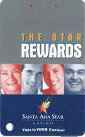 Santa Ana Star Casino - Santa Ana Pueblo, NM - BLANK 7th Issue Slot Card - This Is Your Casino - Casino Cards
