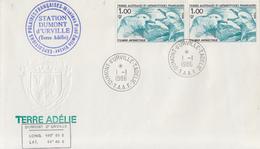 Enveloppe  FDC  1er  Jour   T.A.A.F   Fulmar    1986 - FDC