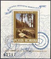 ROMANIA - 1975 - Foglietto Obliterato: Yvert 119, Come Da Immagine. - Blocchi & Foglietti