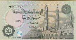 2006? Egypt 50 Piastres P#62 - Egypte