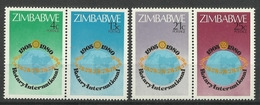 ZIMBABWE  1980  ROTARY SET MNH - Zimbabwe (1980-...)
