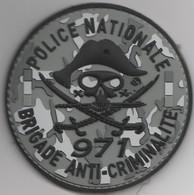 Écusson Police BAC Guadeloupe (971) - Polizei