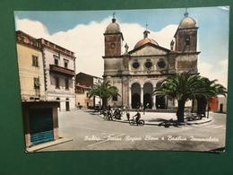 Cartolina Oschiri - Piazza Regina Elena E Basilica Immacolata - 1971 - Oristano