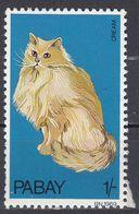 PABAY (Scozia) - 1969 - Un Valore Nuovo MNH Riproducente Un Gatto A Pelo Lungo Di Colore Crema. - Emissions Locales