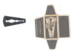 Lame De Rasoir Française POLLART - French Safety Razor Blade Wrapper And Blade - Lames De Rasoir