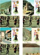ANDORRE CARTES POSTALS ED.OSCAR 4  DIFF. 1970 - Andorre