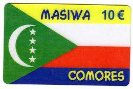FRANCE PREPAYEE SAM TELECOM MASIWA Année 2003 DRAPEAU COMORES - Comoros