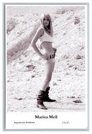 MARISA MELL - Film Star Pin Up PHOTO POSTCARD - 179-47 Swiftsure Postcard - Artistas