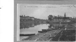 Chalon Sur Saône.Vue Prise Des Granges Forestiers.Pont St Laurent Et Hôpital - Chalon Sur Saone