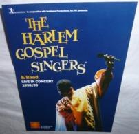 Carte Postale - The Harlem Gospel Singers & Band Live In Concert - Advertising