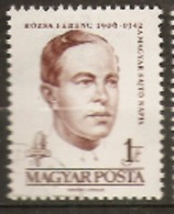 Hungary  1961  SG 1710  F Rozsa  Fine Used - Hongrie
