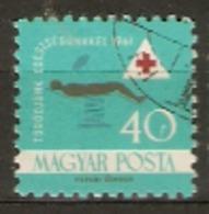Hungary  1961  SG 1727  Health   Fine Used - Hongrie