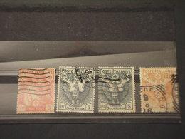 ITALIA REGNO - 1915 CROCE ROSSA  4 VALORI - TIMBRATI/USED - 1900-44 Victor Emmanuel III