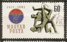 Hungary  1961  SG  1755 VASAS Sports Club  Fine Used - Hongrie