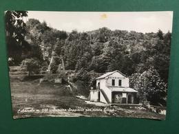 Cartolina Caldriola M.1180 - Stazione Seggiovia Per Monte Gropà  - 1930 - Alessandria