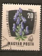 Hungary  1961  SG 1773  Medicinal Plants Monks Head Fine Used - Plantes Médicinales