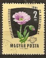 Hungary  1961 SG 1778  Medicinal Plants Poppy   Fine Used - Plantes Médicinales