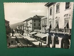 Cartolina Acqui Terme - Corso Bagni  - 1956 - Alessandria