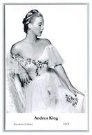 ANDREA KING - Film Star Pin Up PHOTO POSTCARD - 123-8 Swiftsure Postcard - Artistas
