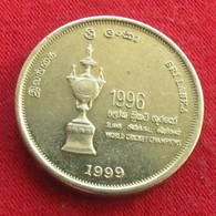 Sri Lanka 5 Rupee 1999 Cricket Wºº - Sri Lanka