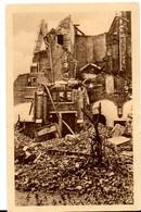 Balgerhoeke Adegem Sint Antonius Van Padua 1940 Zicht Verwoesting Giften In Dank Aangenomen Door EH. Pastoor Postcheck - Eeklo