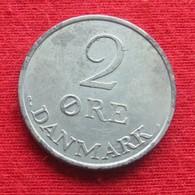Denmark 2 Ore 1971 KM# 840.2  Dinamarca Danemark Danimarca Denemarken - Danemark