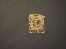 ITALIA REGNO - 1901 FLOREALE 40 C. - TIMBRATI/USED - 1900-44 Victor Emmanuel III