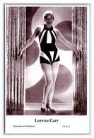 LORENA CARR - Film Star Pin Up PHOTO POSTCARD - P145-1 Swiftsure Postcard - Artistas