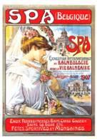 CPM - SPA - Ancienne Affiche - Musée De La Ville D'Eaux - Spa
