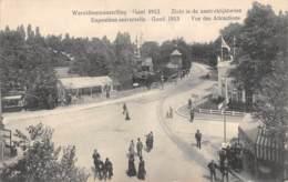 GENT - Wereldtentoonstelling 1913 - Zicht In De Aantreklijkheden - Gent