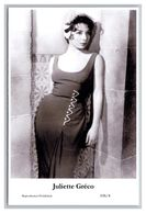 JULIETTE GRECO - Film Star Pin Up PHOTO POSTCARD - A96-4 Swiftsure Postcard - Artistas