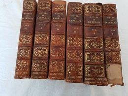 Rabelais - Œuvres De Rabelais In 6 Volumes - - 1868 - 1801-1900