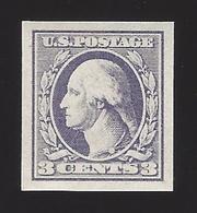 US #535 1918-20 Violet Type IV Unwmk Imperf MNH VF SCV $18 - Neufs