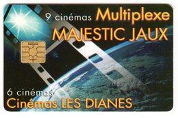 FRANCE CARTE CINEMA à Puce MULTIPLEXE MAJESTIC JAUX Cinéma Les Dianes - Cinéma