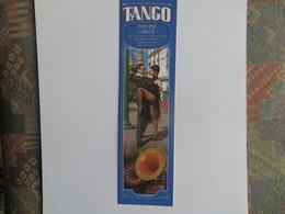 Marque Page Argentine Danseur De Tango Couple  Chanson Por Una Cabeza  Texte Au Recto La Boca - Marque-Pages
