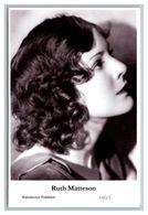RUTH MATTERSON - Film Star Pin Up PHOTO POSTCARD - A312-3 Swiftsure Postcard - Artistas