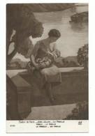 CPA Salon De Paris - Jean Julien La Famille - Mère Alaitant Son Enfant. - Peintures & Tableaux