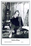 ANDREA KING - Film Star Pin Up PHOTO POSTCARD - 123-1 Swiftsure Postcard - Artistas