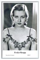 EVALYN KNAPP - Film Star Pin Up PHOTO POSTCARD - 180-8 Swiftsure Postcard - Artistas