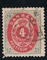 1870 Freimarke Mi DK 18IA Sn DK 18 Yt DK 18 Sg DK 44  AFA DK 18 Gestempelt O - 1864-04 (Christian IX)