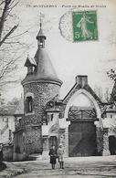 91  MONTGERON MOULIN DE SENLIS PORTE  ANIMEE - Montgeron