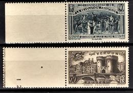 FRANCE 1939 -  Y.T. N° 444 ET 445 - NEUFS** - Neufs